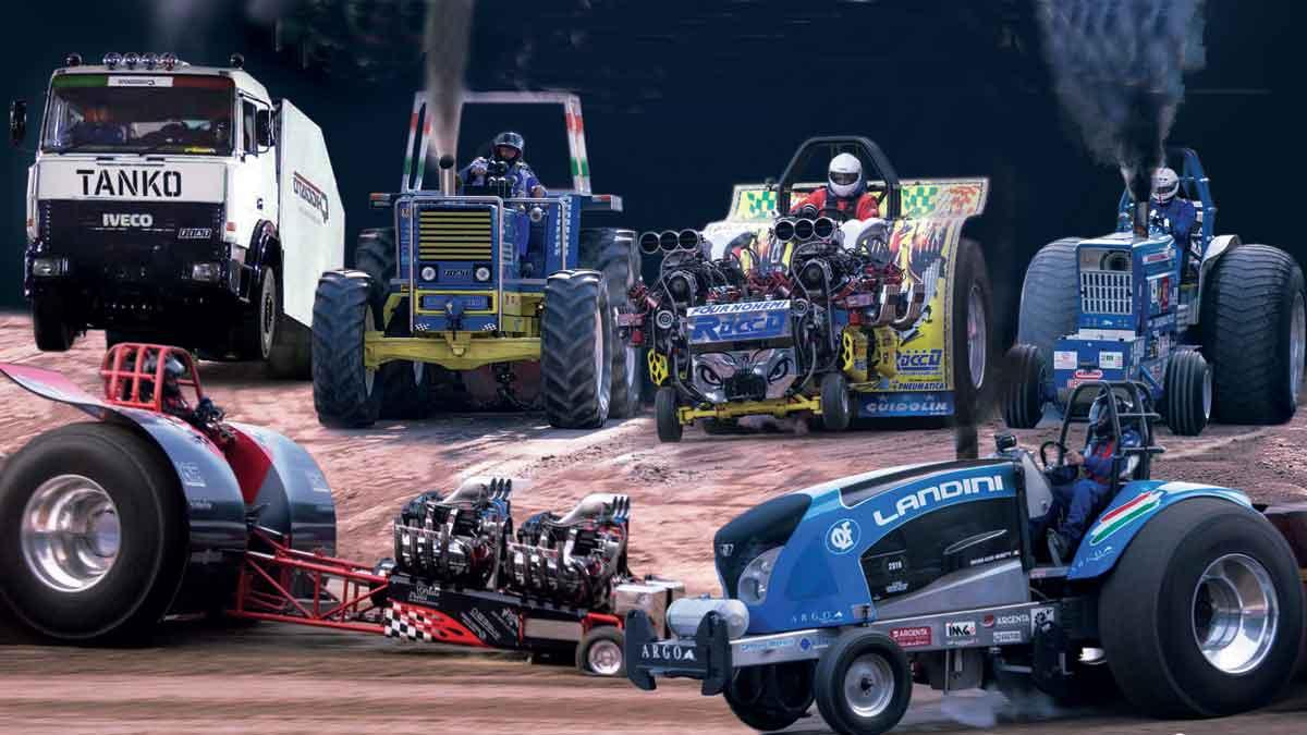 Tractor Pulling: un nuovo spettacolo in fiera